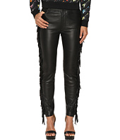 Jeremy Scott - Fringed Leather Pants
