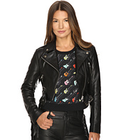 Jeremy Scott - Studded Leather Moto Jacket