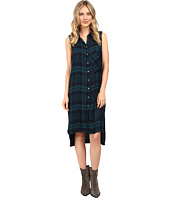 Brigitte Bailey - Tulsi Sleeveless Plaid Dress with Grommet Detail