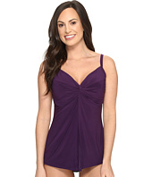 Miraclesuit - Solids Love Knot Tankini Top (DD-Cup)