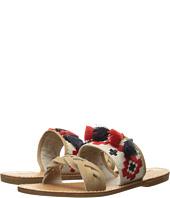 Soludos - Embroidered Slide Flat Sandal