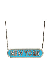Marc Jacobs - Charms Paradise New York Nameplate Pendant Necklace