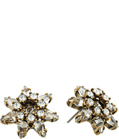 Marc Jacobs - Charms Tropical Pointy Strass Flower Studs Earrings