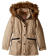 Urban Republic Kids - Feather Touch Ballistic Fur Lined Hooded Jacket (Little Kids/Big Kids)