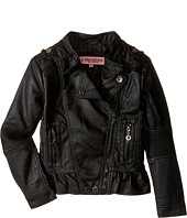 Urban Republic Kids - Distressed Faux Leather Jacket (Little Kids/Big Kids)