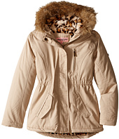Urban Republic Kids - Cotton Twill Jacket W/Fur Trim (Little Kids/Big Kids)