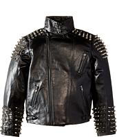 eve jnr - Studded Leather Jacket (Little Kids/Big Kids)