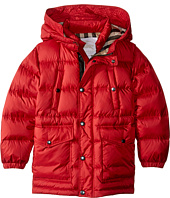 Burberry Kids - Barnie Puffy Checked Hood Jacket (Little Kids/Big Kids)