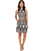 Christin Michaels - Rogue Sleeveless Printed Scuba Dress