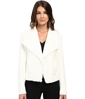 MICHAEL Michael Kors - Open Front Fray Tweed Jacket
