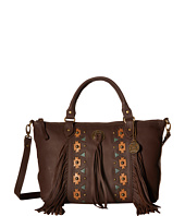 American West - Chenoa Large Zip Top Convertible Satchel