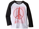 Peace Feather Long Sleeve T-Shirt (Toddler/Little Kids/Big Kids)