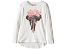 Ivory Long Sleeve T-Shirt (Toddler/Little Kids/Big Kids)