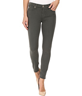 7 For All Mankind - The Ankle Skinny w/ Contour Waist Band in Olive