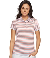 adidas Golf - Double Stripe Short Sleeve Polo