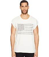 Just Cavalli - Studded Flag Sleeveless T-Shirt