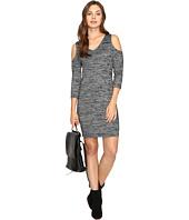 kensie - Space Dye Jersey Dress KSDK7418