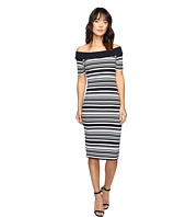 MICHAEL Michael Kors - Texture Pique Off Shoulder Dress