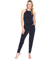 MICHAEL Michael Kors - Dome Stud Neck Jumpsuit