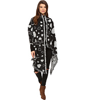 Betsey Johnson - Heart Couture Blanket Wrap