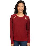 MICHAEL Michael Kors - Raglan Cut Out Long Sleeve Sweater