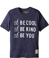 The Original Retro Brand Kids - Be Cool Be Kind Be You Tri-Blend Short Sleeve Tee (Big Kids)