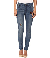 FDJ French Dressing Jeans - Olivia Patchwork Jeans in Indigo