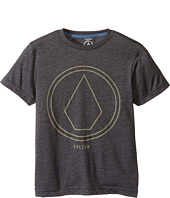 Volcom Kids - Pin Line Stone Short Sleeve Tee (Big Kids)