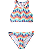 Billabong Kids - Ziggyland High Neck Set (Little Kids/Big Kids)