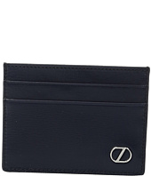 Z Zegna - Boarded Calfskin Card Case