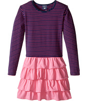 Toobydoo - Sasha Ruffle Pink Dress (Toddler/Little Kids/Big Kids)
