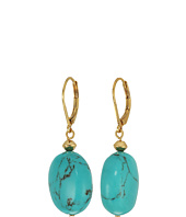 LAUREN Ralph Lauren - Paradise Found Turquoise Nugget Drop Earrings
