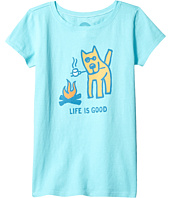 Life is Good Kids - Marshmallow Roast Tee (Little Kids/Big Kids)