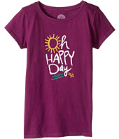 Life is Good Kids - Oh Happy Day Crusher Tee (Little Kids/Big Kids)