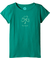 Life is Good Kids - Shamrock Hearts Tee (Little Kids/Big Kids)