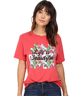 Life is Beautiful - Cactus Script - Crew Neck Tee