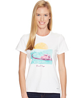 Life is Good - Road Trip Sunset Crusher Tee