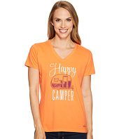 Life is Good - Happy Camper Crusher Vee