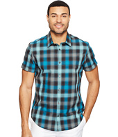 Calvin Klein - Short Sleeve Shadow Plaid Shirt