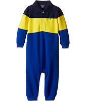 Ralph Lauren Baby - Yarn-Dyed Mesh Polo One-Piece Coveralls (Infant)