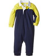 Ralph Lauren Baby - Interlock Color Block One-Piece Coveralls (Infant)
