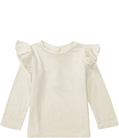 Ralph Lauren Baby - Cotton Jersey Ruffle Knit Top (Infant)
