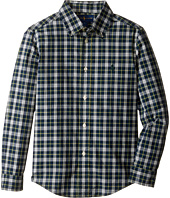 Polo Ralph Lauren Kids - Poplin Long Sleeve Button Down Shirt (Little Kids/Big Kids)