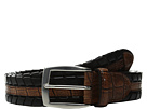 35mm Laced Harness Leather with Gator Embossed Inset