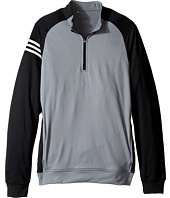 adidas Golf Kids - 3-Stripes Layering Full Zip Pullover (Big Kids)