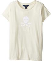 Polo Ralph Lauren Kids - Enzyme Jersey Short Sleeve Graphic Tee (Little Kids/Big Kids)