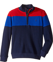 Polo Ralph Lauren Kids - Yarn-Dyed Long Sleeve 1/2 Zip (Little Kids/Big Kids)