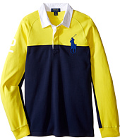 Polo Ralph Lauren Kids - Jersey Raglan Rugby (Big Kids)