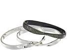Grey & Silver Bangle Set Bracelet