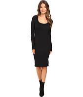 ATM Anthony Thomas Melillo - Wide Neck Long Sleeve Dress